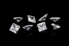 Роскошные диаманты Стоковое Изображение
