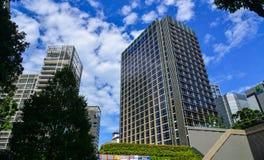 Роскошные квартиры в Сингапуре Стоковые Изображения RF