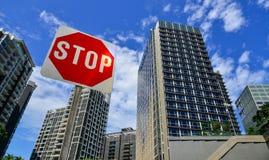 Роскошные квартиры в Сингапуре Стоковая Фотография RF