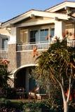 роскошные квартиры прибрежные определяют Стоковая Фотография