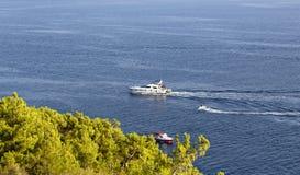 Роскошные пропуски яхты Heybeliada Стоковые Фото