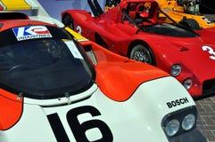 Роскошные спортивные машины на аукционе RM в Монтерей Стоковое Изображение