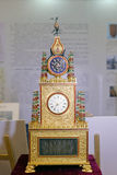 Роскошные часы кронштейна Стоковая Фотография