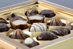 Роскошные шоколады Стоковая Фотография RF