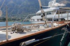 роскошные яхты Стоковое фото RF