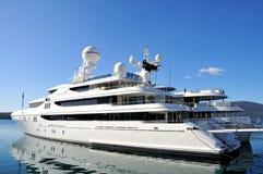 роскошные яхты Стоковые Изображения RF