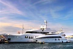 роскошные яхты Стоковые Фото
