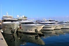 роскошные яхты стоковая фотография