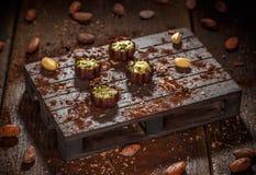 Роскошные bonbons шоколада Стоковое Фото