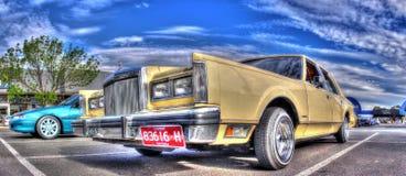 Роскошный автомобиль городка Форда Линкольна американца 1980s Стоковое Изображение