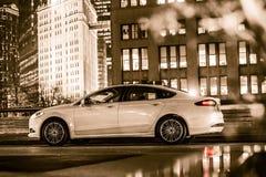 Роскошный автомобиль в Чикаго Стоковые Изображения