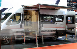 Роскошный автомобиль передвижного дома Benz Мерседес Стоковые Изображения