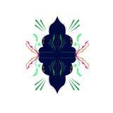 Роскошный арабский орнамент шнурка Первоначально чертеж Стоковое Изображение RF