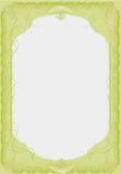 роскошный вектор твердого тела ресторана меню Стоковые Фотографии RF