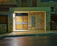 Роскошный вход дома, Афины Греция стоковые изображения rf