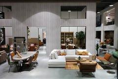Роскошный выставочный зал мебели Стоковое фото RF