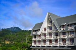 Роскошный горнолыжный курорт в Dalat, Вьетнаме Стоковое Изображение