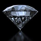 Роскошный диамант - путь клиппирования Стоковые Изображения RF