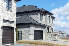 Роскошный дом в Монреале, Канаде Стоковая Фотография