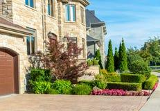 Роскошный дом в Монреале, Канаде Стоковые Фотографии RF