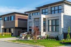 Роскошный дом в Монреале, Канаде Стоковое фото RF