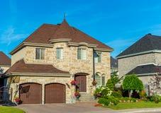 Роскошный дом в Монреале, Канаде Стоковые Фото