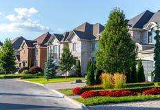 Роскошный дом в Монреале, Канаде Стоковые Изображения