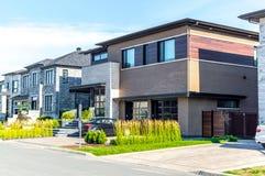 Роскошный дом в Монреале стоковая фотография