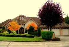 Роскошный дом стоковое изображение rf