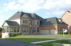 Роскошный дом стоковое фото