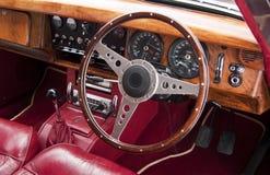 Роскошный интерьер автомобиля Стоковое фото RF