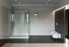 Роскошный интерьер ванной комнаты Стоковое фото RF