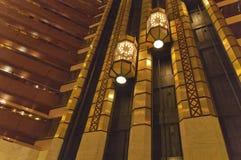 Роскошный интерьер в гостинице первого класса Стоковое Изображение RF