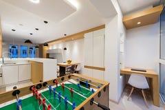 Роскошный интерьер квартиры Стоковые Фотографии RF