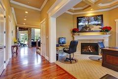 Роскошный интерьер дома E Стоковое Изображение