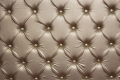 Роскошные золотистые кожаные стены Стоковые Фото