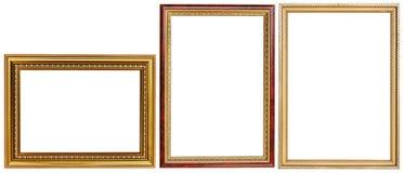 Роскошный комплект картинной рамки Стоковое фото RF