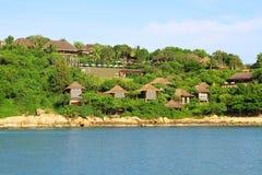 Роскошный курорт в острове Samui Koh - Таиланде Стоковые Фотографии RF