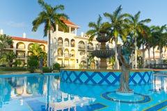 роскошный курорт Мексики Стоковое Изображение