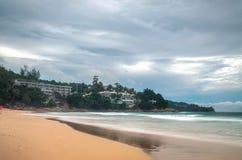 Роскошный курорт на южном береге Стоковая Фотография RF