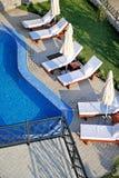 роскошный курорт Стоковая Фотография