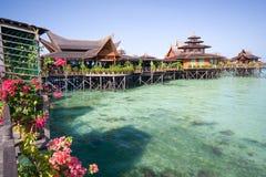 роскошный курорт Стоковое Изображение RF