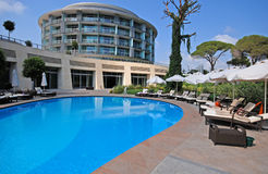 Роскошный курорт, Belek, Турция Стоковые Фотографии RF