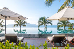Роскошный курорт, Nha Trang, Вьетнам Стоковое фото RF