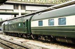 Роскошный курьерский поезд Стоковая Фотография RF