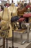 Роскошный магазин сумок Стоковая Фотография RF