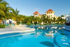 роскошный мексиканский курорт Стоковая Фотография RF