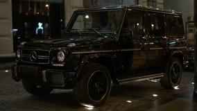 Роскошный Мерседес-Benz G-klasse автомобиля Стоковое Фото