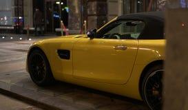 Роскошный Мерседес-Benz GT r автомобиля Стоковое Изображение