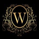 Роскошный логотип Стоковое Изображение